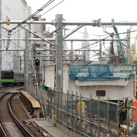 2020年に向けた駅改良工事~埼京線渋谷駅