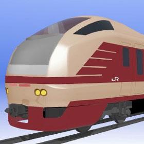E653系が国鉄特急色に