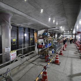 開業まであと1年 日比谷線新駅「虎ノ門ヒルズ駅」の工事現場を見る