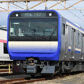 将来は編成組み替えも? 横須賀・総武快速線用のE235系1000番台お披露目