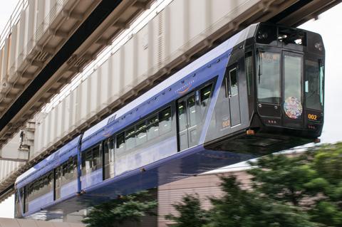 千葉都市モノレール、2028年までに全て新型車両へ