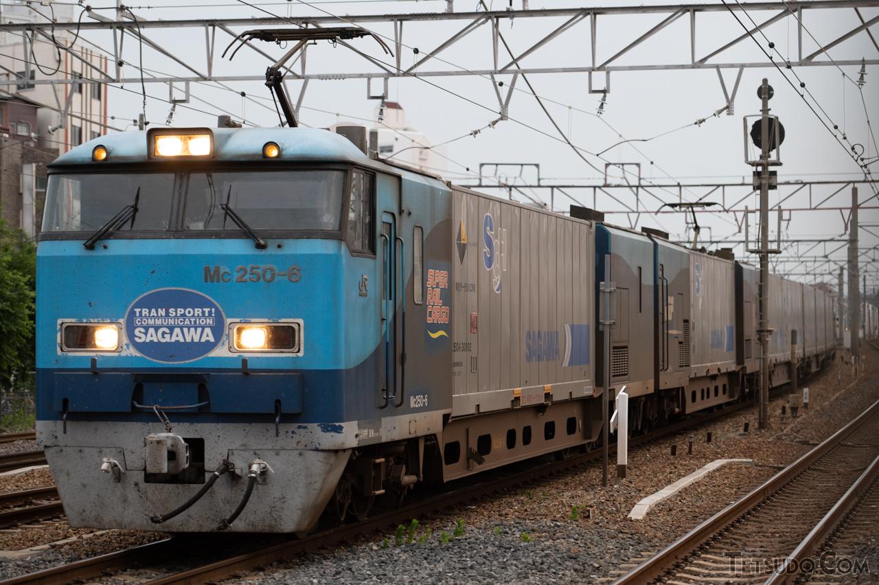 東京~大阪間を走る貨物電車「スーパーレールカーゴ」