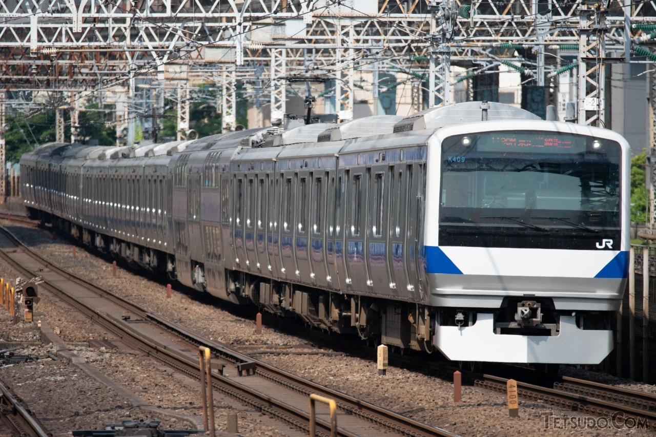 交直両用電車では最長となる、常磐線のE531系