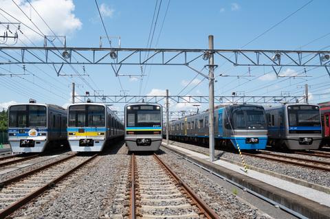 普段は入れない「印旛車両基地」へ 京成・北総のツアー開催