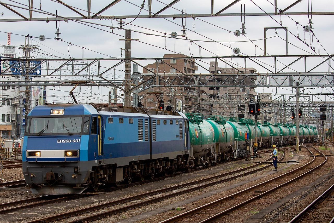 JR貨物のEH200形(画像は今回の車両とは無関係です)