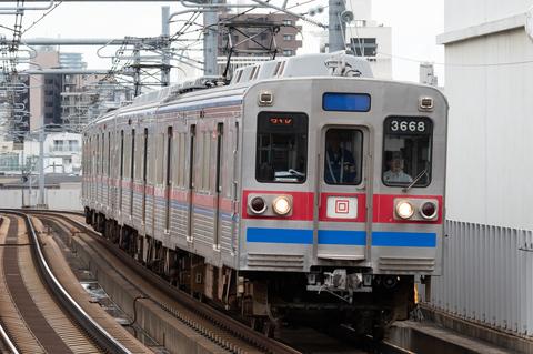 付いた愛称は「ターボ君」 京成電鉄の3600形4両編成