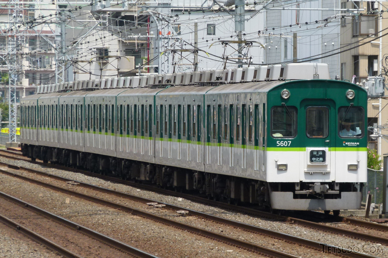 9月4日に営業運転を終えた京阪5000系