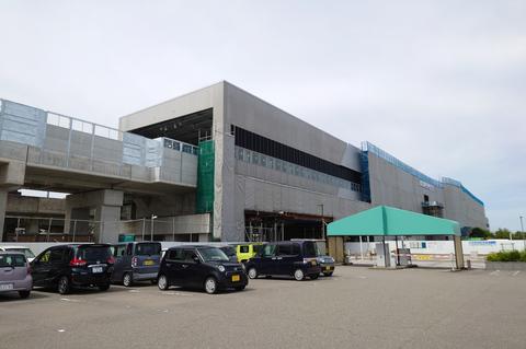 航空祭へのアクセスが便利に? 2023年度の開業を予定する新幹線小松駅
