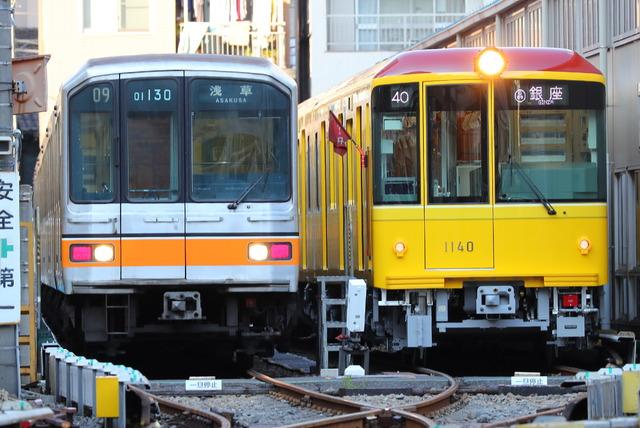メトロ 銀座線01系 営業運転終了...