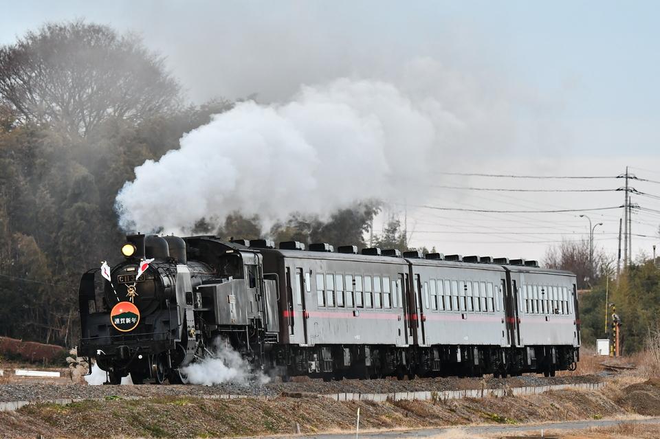 SLもおかで活躍した真岡鐵道C11-325
