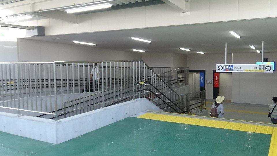 南海 諏訪ノ森駅仮駅舎 供用」の投稿写真(1枚目) - 鉄道コム