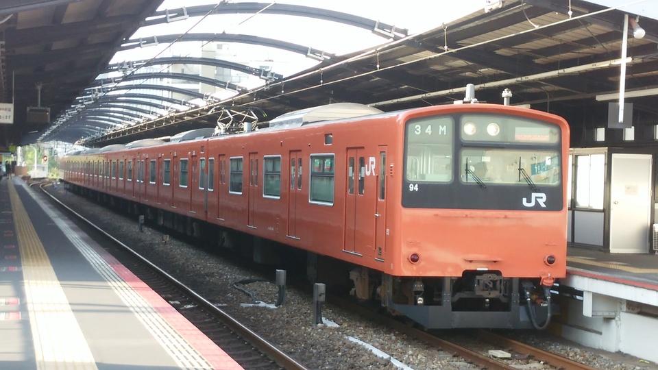 6月に大阪環状線から撤退した201系