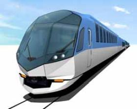 近鉄の新型観光特急。大阪・名古屋~伊勢志摩間を運行予定。