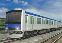 新型60000系車両(外観イメージ)