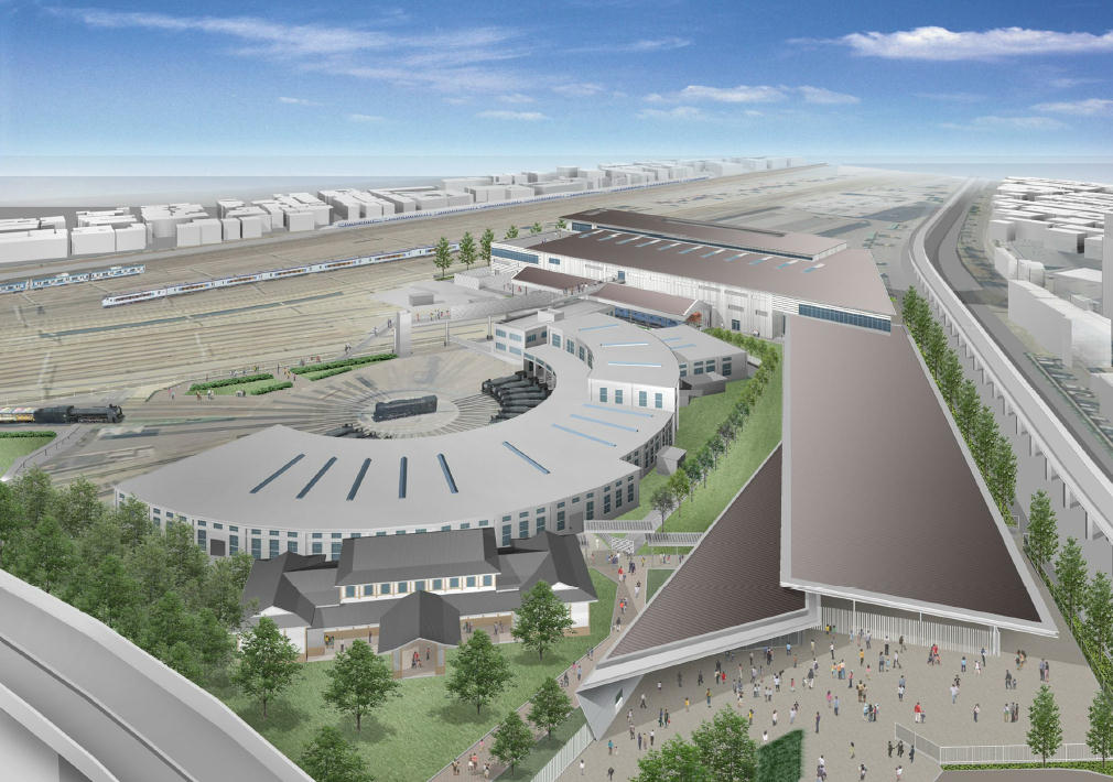 鉄道博物館(全景イメージ)