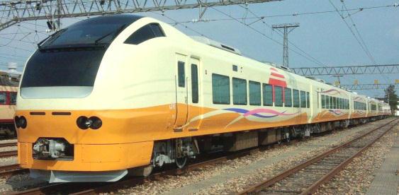 E653系羽越線デビュー号(イメージ)