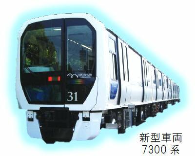7300系(イメージ)