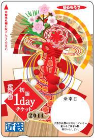 京阪奈初詣1dayチケット(イメージ)