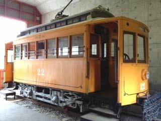 名電1号(木製電車22号)