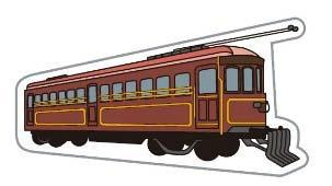 デボ1形車両バッジ(イメージ)