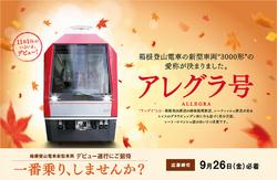 箱根登山鉄道 3000形アレグラ号 ...
