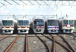 くぬぎ山車両基地(イメージ)