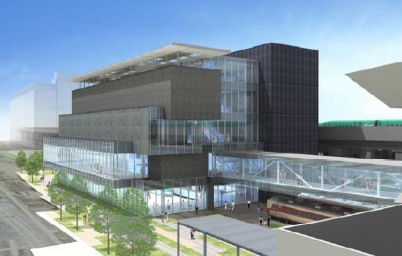 鉄道博物館新館(外観イメージ)