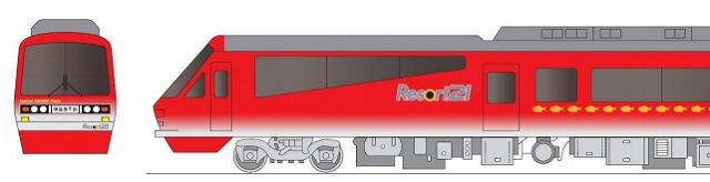 地域プロモーション電車(イメージ)