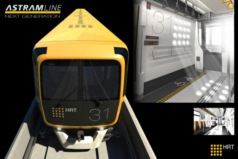 アストラムライン新型車両(イメージ)