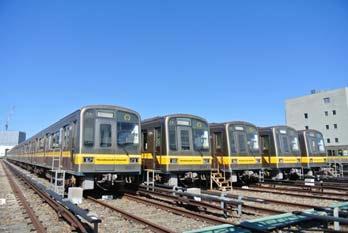 東山線車両写真(見本)