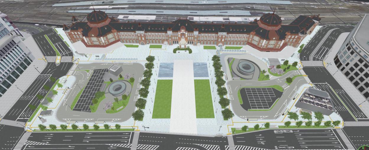 丸の内駅前広場(イメージ)