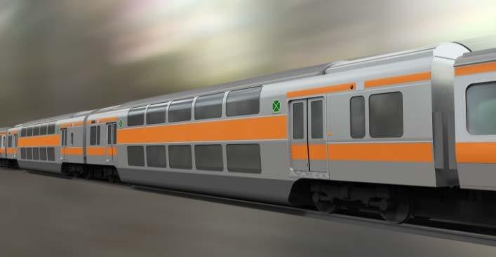 中央快速線向けグリーン車(イメージ)