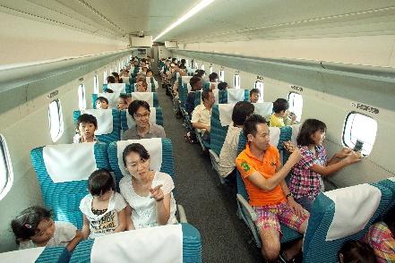 リニア体験乗車(イメージ)