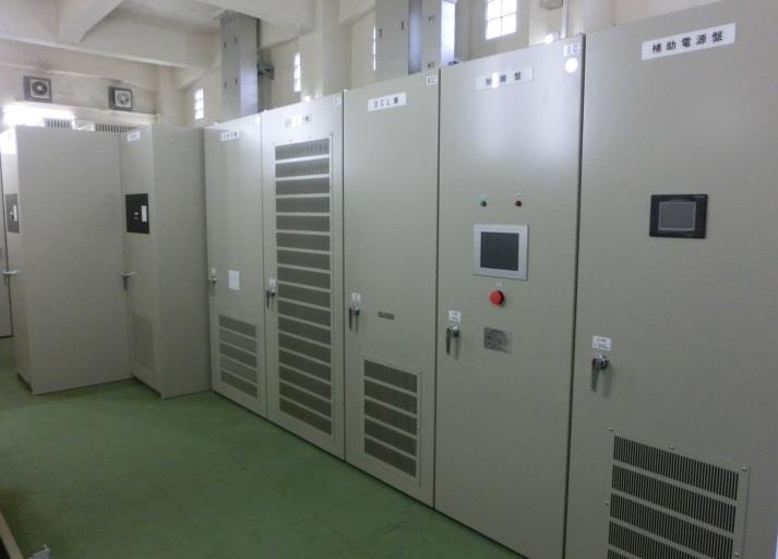 回生電力貯蔵装置(変換ユニット)