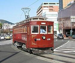 長崎電気軌道 路面電車の日 記念電車 運転