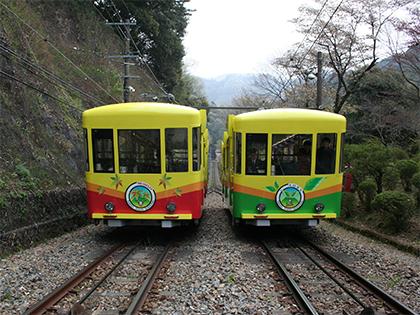 高尾山ケーブルカーのおしごとを体験しよう!(イメージ)