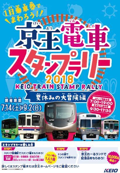 京王電車スタンプラリー(ポスター)