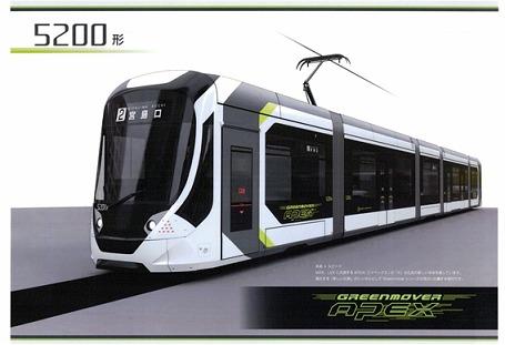 5200形「Green Mover APEX」(イメージ)