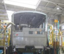 電車生産工程(イメージ)