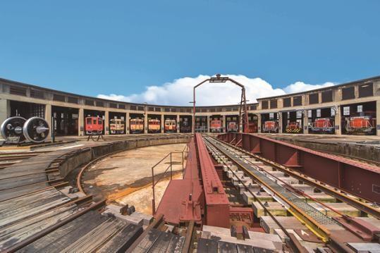扇形機関車庫