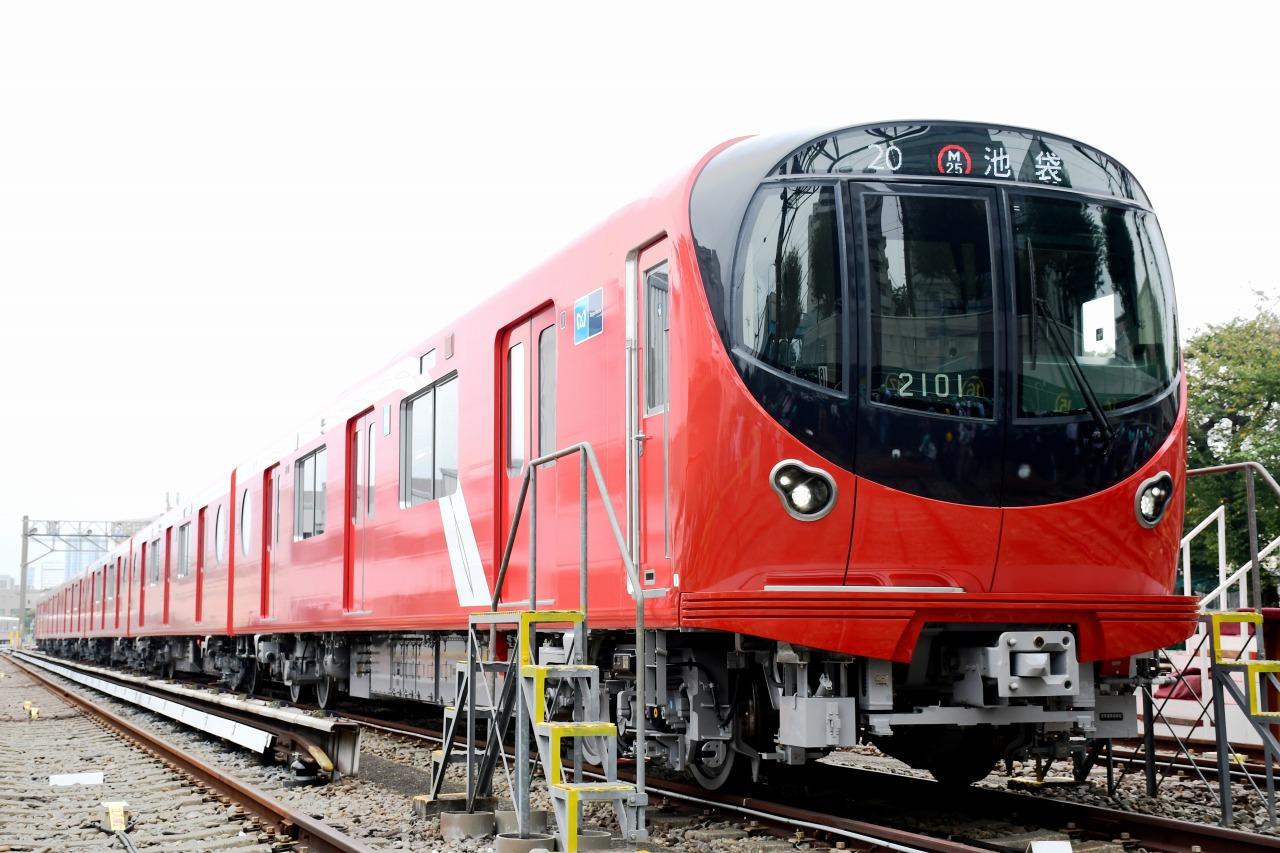 丸ノ内線用の新型車両2000系