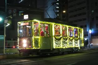 クリスマス電車(イメージ)