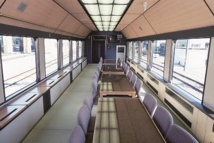 お座敷列車(車内イメージ)