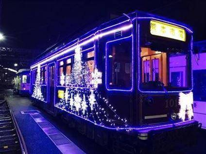 イルミネーション電車(イメージ)