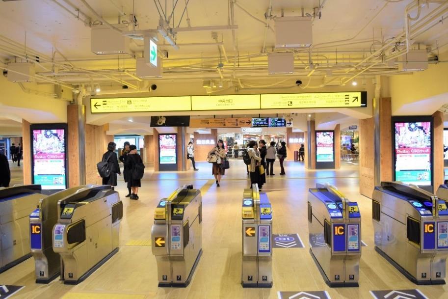 枚方市駅中央口コンコース