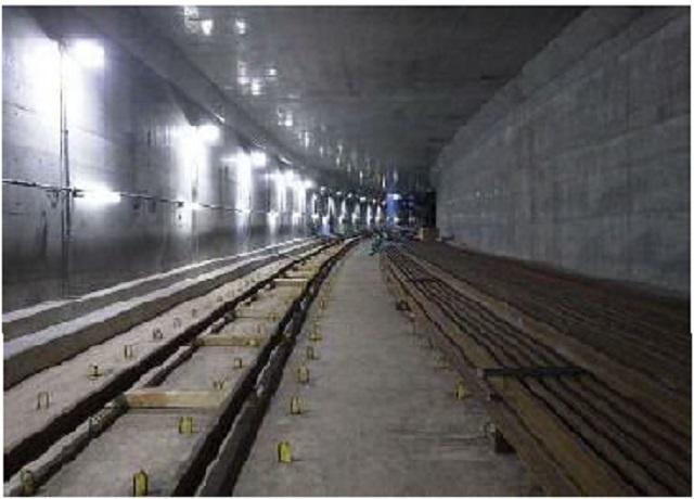 大師線地下トンネル