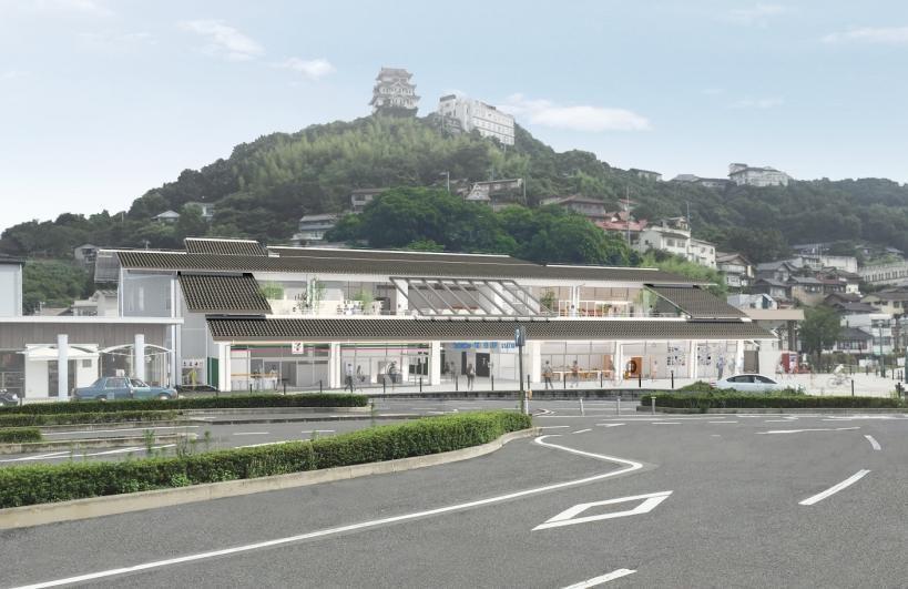 尾道駅(新駅舎イメージ)