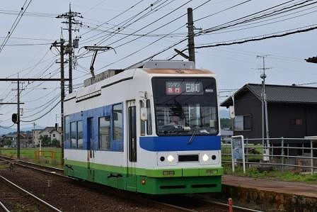 福井鉄道の800形803号