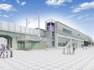 梅小路京都西駅(イメージ)