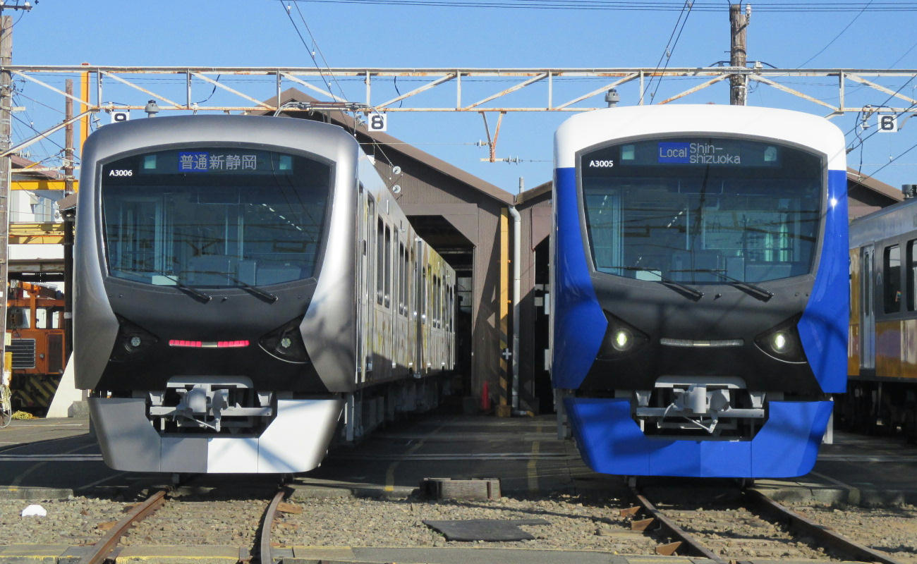 A3006号(左)、A3005号(右)